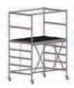 COMPACT folding scaffold unit, single and double platform width Z600 (low) 6