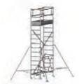COMPACT folding scaffold unit, single and double platform width Z600 (high) 5