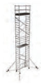 COMPACT folding scaffold unit, single platform Z500 (high) 8